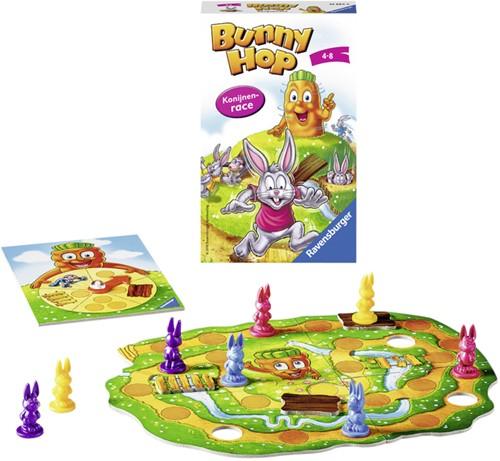 Spel Ravensburger Bunny Hop konijnenrace