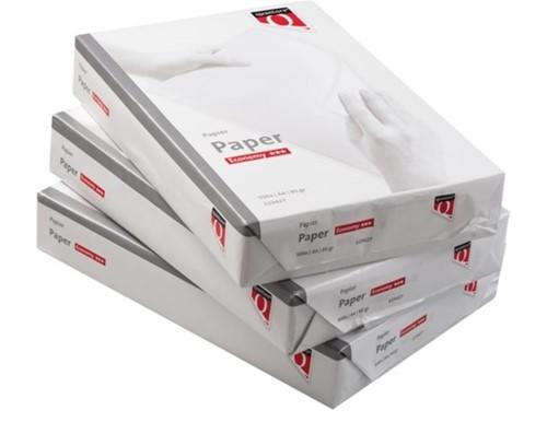 Kopieerpapier Quantore Economy A4 80gr wit, pak à 500 vel