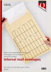 Envelop Quantore huispost EB4 262x371mm met opdruk 25st.