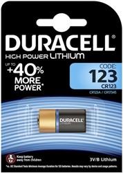 Batterij Duracell Ultra 123 lithium