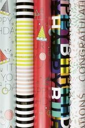 Inpakpapier Stewo birthday glam 70x200cm
