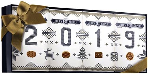 Koekjes Jules Destrooper natuurboterwafels giftbox 2019