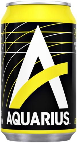 Frisdrank Aquarius Lemon blikje 0.33l