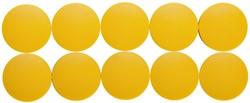 Magneet Maul Solid 38x15.5mm geel