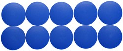 Magneet Maul Solid 38x15.5mm blauw