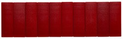 Magneet Maul Solid 54x19x9mm rood