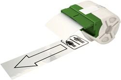 Etiket Leitz icon labelprint kunststof 88mmx10m wit