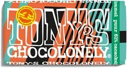Tony's Chocolonely puur 51% cacaokoekje 180gr