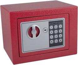 Kluis Pavo mini 230x170x170mm elektronisch rood