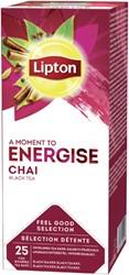 Thee Lipton Energise Chai 25stuks