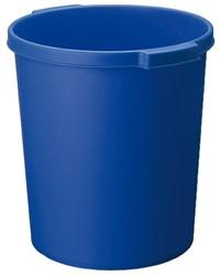 Papierbak Jalema 15liter met griprand blauw