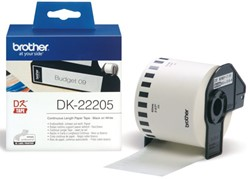 Etiket Brother DK-22205 62mm 30-meter wit papier