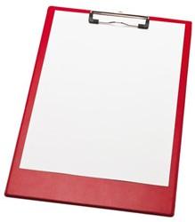 Klembord LPC A4/Folio met 100mm klem rood