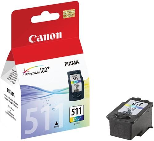 Inktcartridge Canon CL-511 kleur