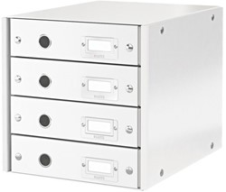 Ladenbox Leitz Click & Store 4 laden 290x283x360mm wit