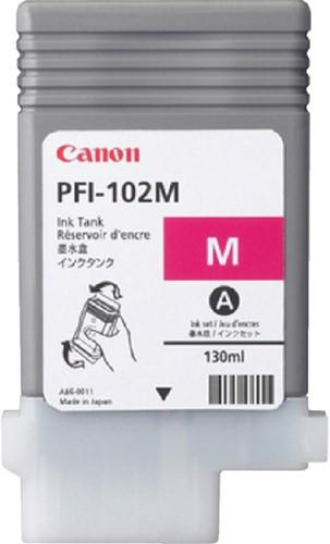 Inktcartridge Canon PFI-102 rood