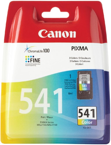 Inktcartridge Canon CL-541 kleur