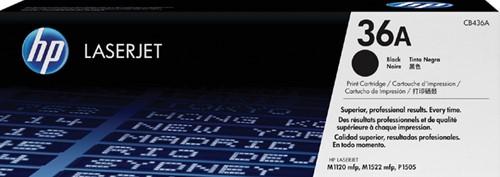 Tonercartridge HP CB436A 36A zwart