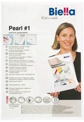 Offertemap pearl1+insteektas 2 flappen wit