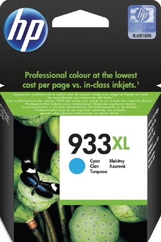 Inktcartridge HP CN054AE 933XL blauw hc