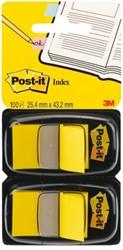 Indextabs 3M Post-it 6802YEL 2 stuks geel