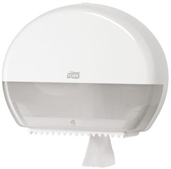 Dispenser Tork T2-mini jumbo toiletpapierdispenser 555000wit