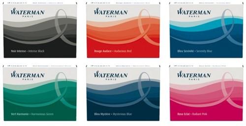 Inktpatroon Waterman internationaal Florida blauw-2