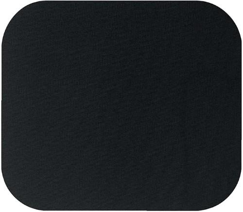 Muismat Fellowes 224x186x6mm zwart