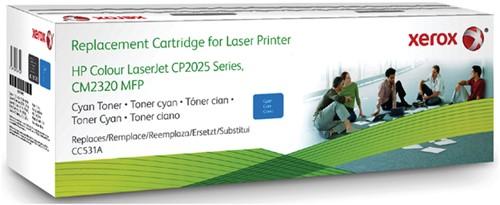 Tonercartridge Xerox 003R99795 HP CC531A 304A blauw
