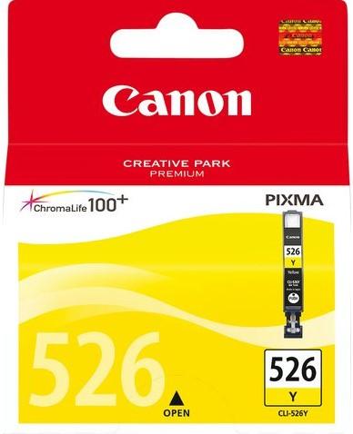 Inkcartridge Canon CLI-526 geel
