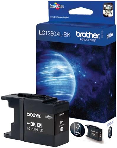 Inktcartridge Brother LC-1280XLBK zwart HC