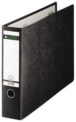Ordner Leitz 1073 A3 dwars 77mm karton gewolkt zwart