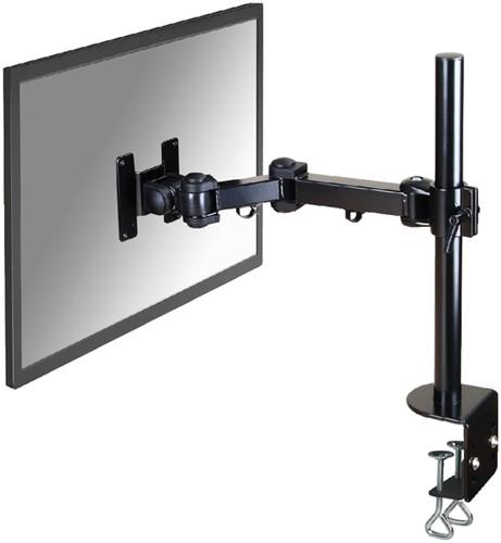 """Monitorarm Newstar D960 10-30"""" met klem zwart"""