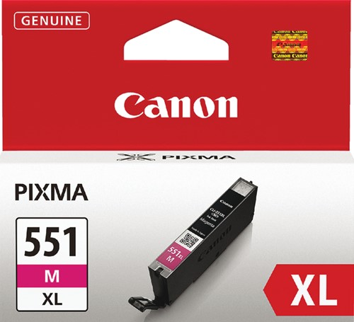 Inktcartridge Canon CLI-551XL rood HC
