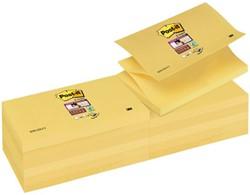 Memoblok 3M Post-it Z-Note S350-Y 76x127mm Super Sticky geel