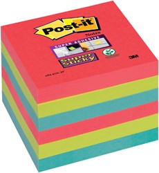 Memoblok 3M Post-it 654-SSJP Super Sticky 76x76mm Bora Bora