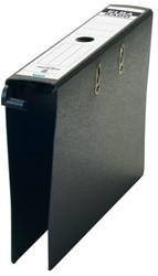 Hangordner Elba Rado Plast 75mm karton zwart gewolkt