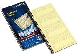 Terugbelboek Atlanta 2570702000 74x125mm 160x2stuks