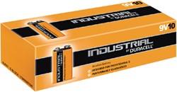 Batterij Industrial 9Volt alkaline