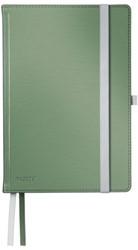 Notitieboek Leitz Style harde kaft A5 gelinieerd zeegroen