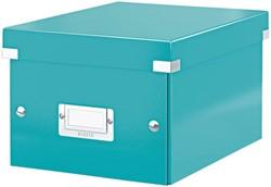 Opbergbox Leitz Click & Store 200x148x250mm ijsblauw