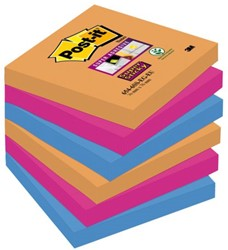 Memoblok 3M Post-it 654-SSEG Super Sticky 76x76mm Bangkok