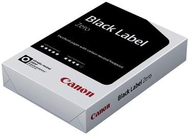 Kopieerpapier Canon Black Label Zero A4 80gr wit 500vel