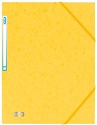 Elastomap Elba A4 met rugetiket geel
