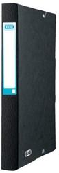 Elastobox Elba A4 40mm met rugetiket zwart