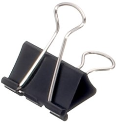 Papierklem Maul 215 Foldback 32mm capaciteit 13mm zwart