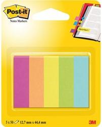 Indextabs 3M Post-it 670/5CA papier ultra 5 kleuren