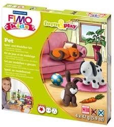 Klei Fimo Kids Staedtler form & play huisdieren