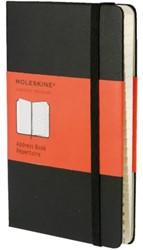 Adresboek Moleskine pocket 90x140mm