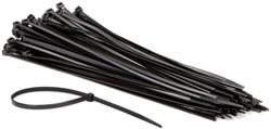 Inbindstrips nylon 4,8x300mm Ø81mm zwart